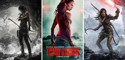 Was hat das Tomb Raider-Reboot alles aus den Videospielen übernommen?