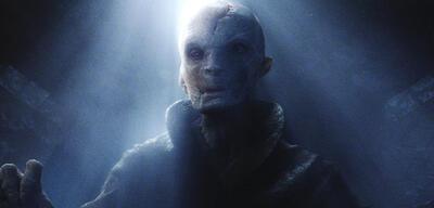 Snoke in Star Wars: Episode VII - Das Erwachen der Macht