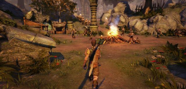 Screenshot aus Lionheads neuestem Release Fable Anniversary