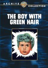 Der Junge mit den grünen Haaren - Poster