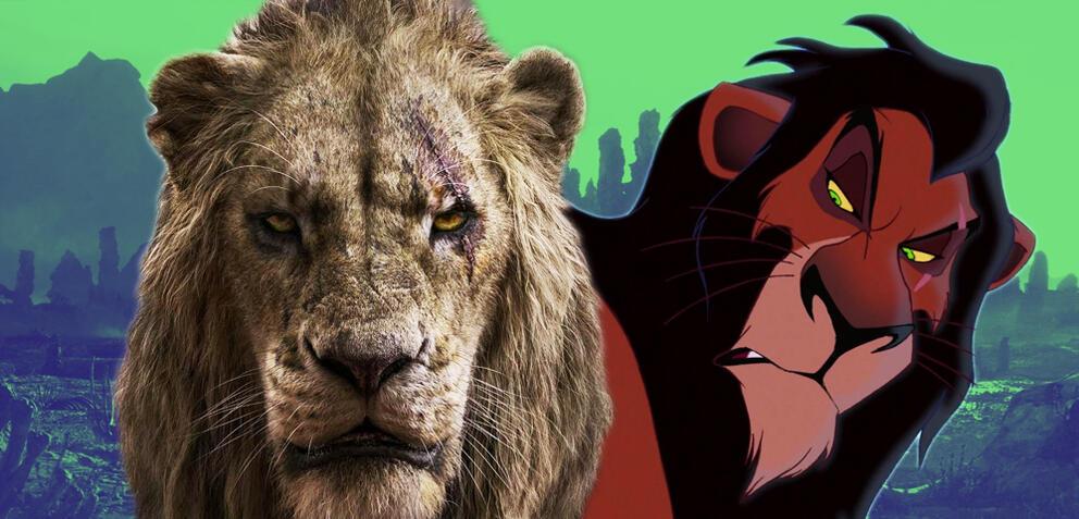 der könig der löwen enthüllt woher scar seine narbe hat
