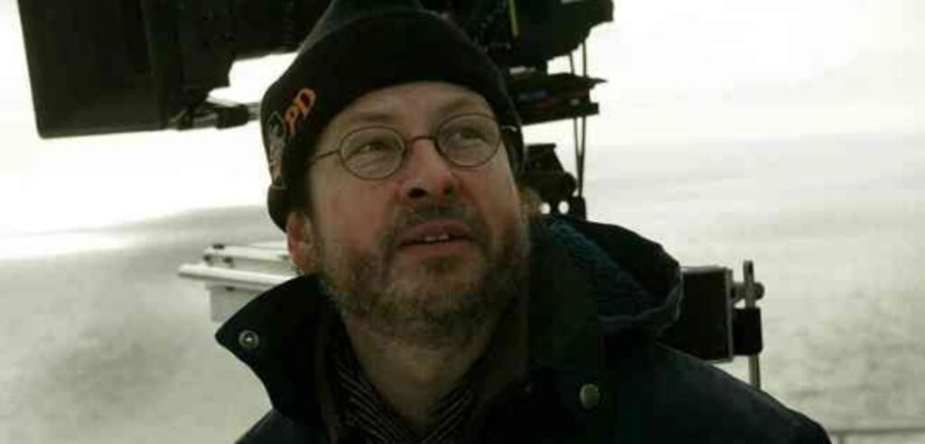 Lars von Trier am Set zu The Boss of it All