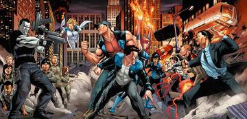 Bloodshot & andere Valiant-Charaktere