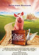 Schweinchen Babe in der großen Stadt - Poster