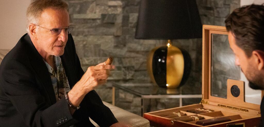 Christopher Lambert in seiner Rolle als Mafiaboss