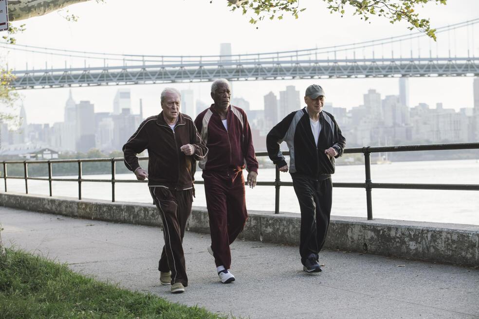Abgang mit Stil mit Morgan Freeman, Michael Caine und Alan Arkin