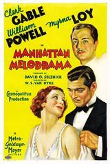 Manhattan Melodrama - Poster