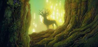 Prinzessin Mononoke: Der Waldgott
