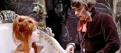 Sharon Tate und Roman Polanski in Tanz der Vampire