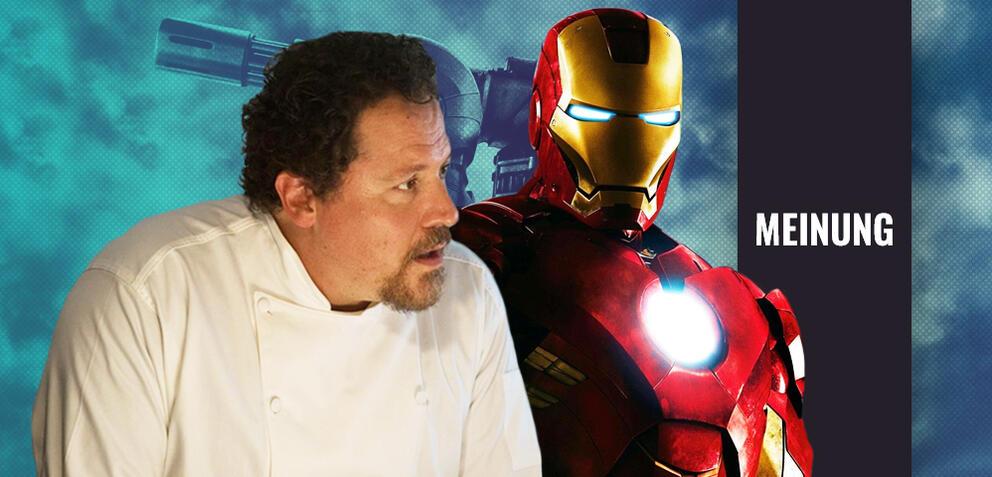 Jon Favreau und Iron Man