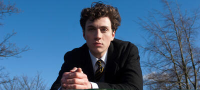 Aaron Johnson als John Lennon in Nowhere Boy