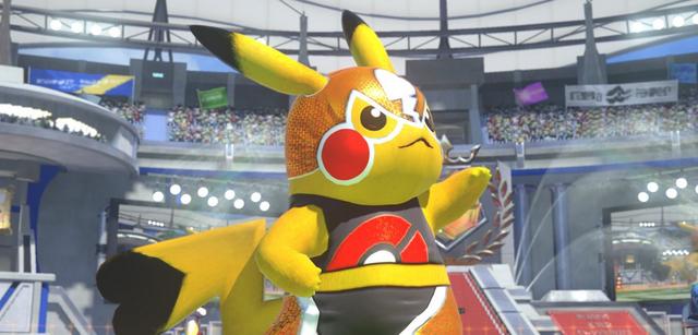 Pikachu in Pokémon Tekken