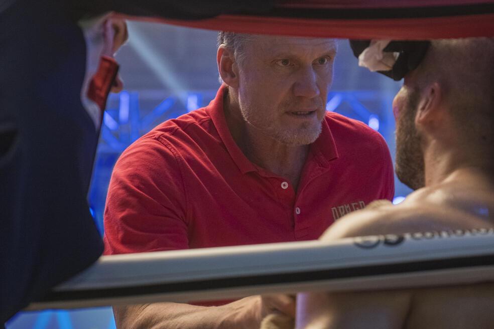 Creed II mit Dolph Lundgren