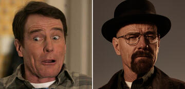 Bryan Cranston in Malcolm Mittendrin und Breaking Bad