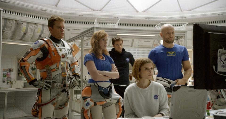 Der Marsianer - Rettet Mark Watney mit Matt Damon, Kate Mara und Kristen Wiig