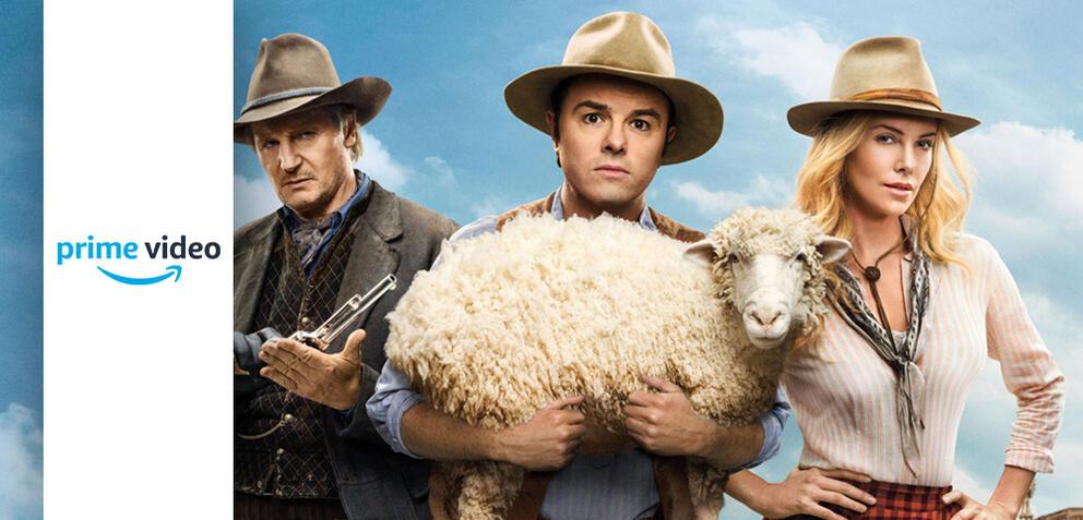 A Million Ways to Die in the West mit Liam Neeson, Seth MacFarlane und Charlize Theron