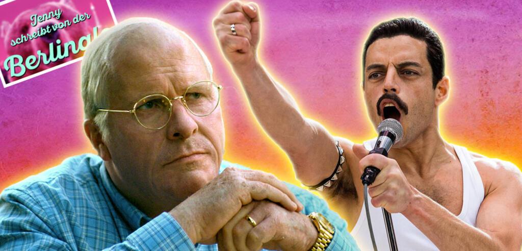 Vice mit Christian Bale und Bohemian Rhapsody mit Rami Malek