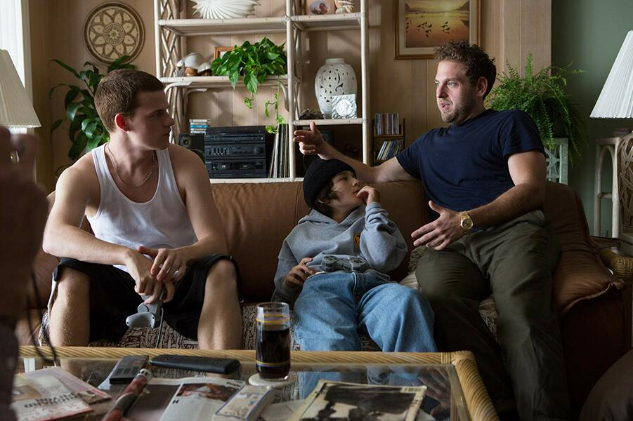 Mid90s mit Jonah Hill, Lucas Hedges und Sunny Suljic