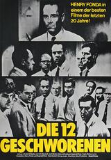 Die zwölf Geschworenen - Poster
