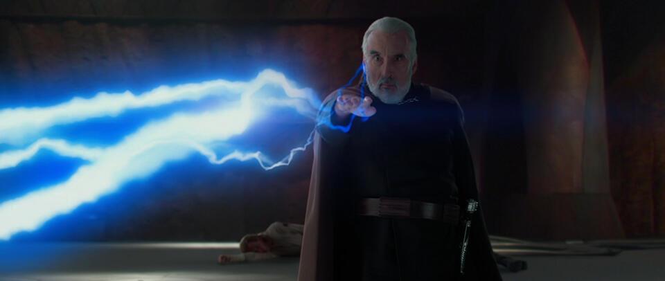 Star Wars: Episode II - Angriff der Klonkrieger mit Christopher Lee
