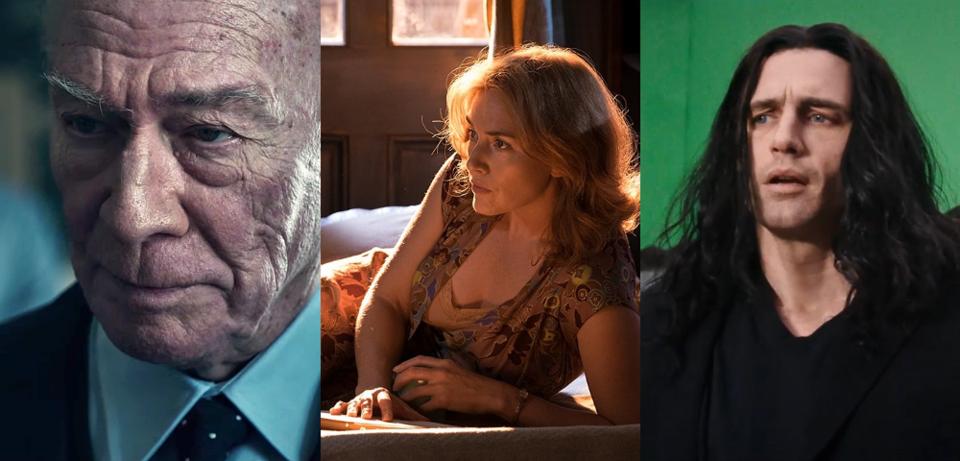 Christopher Plummer, Kate Winslet und James Franco
