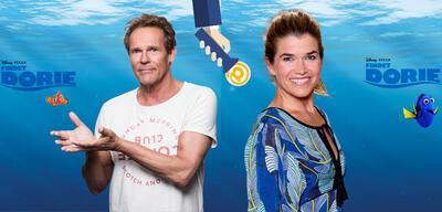 Christian Tramitz als Marlin und Anke Engelke als Dorie