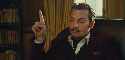 Johnny Depp inMortdecai