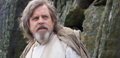 Mark Hamill als Luke Skywalker in Star Wars