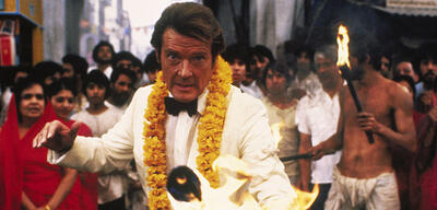 Roger Moore in James Bond 007 - Octopussy