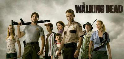 Der Walking Dead-Cast in alten Zeiten