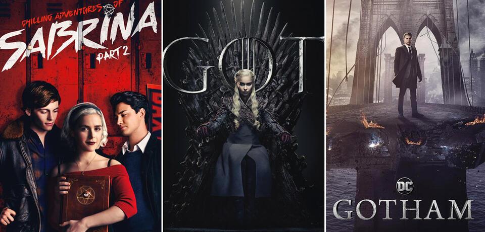 Neue Serien und Staffeln im April 2019