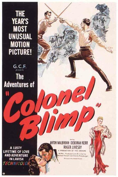 Leben und Sterben des Colonel Blimp - Poster