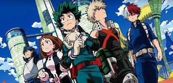 Bild zu:  Izuku und seine Freunde