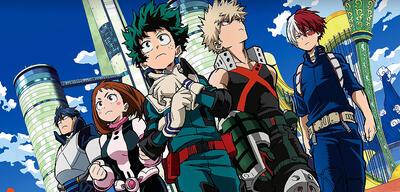 Izuku und seine Freunde