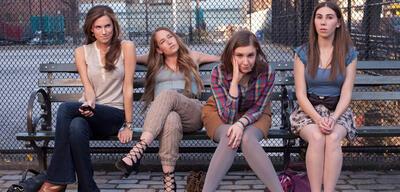 Girls, mit Allison Williams, Jemima Kirke, Lena Dunham & Zosia Mamet