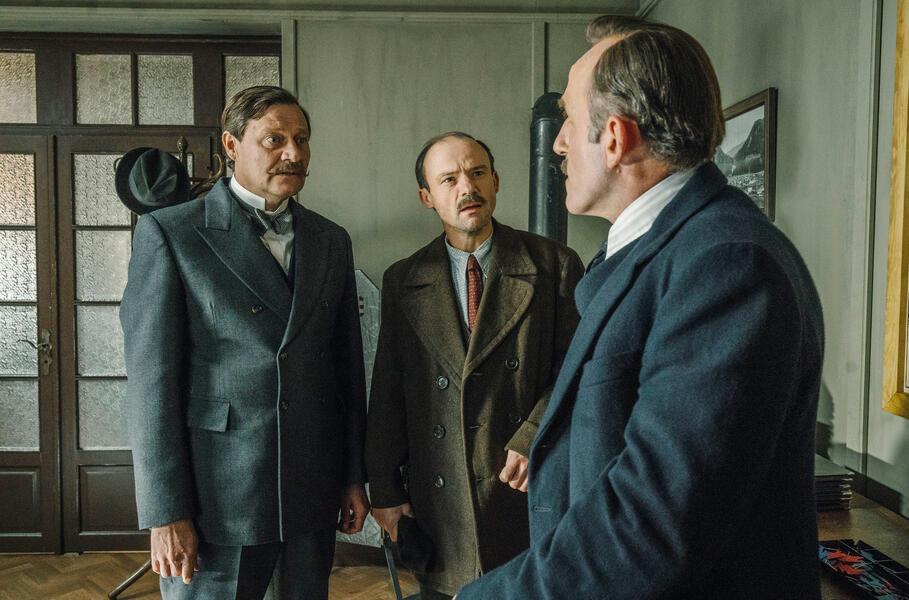 Das Wunder von Wörgl mit Karl Markovics, Gerhard Liebmann und Harald Windisch