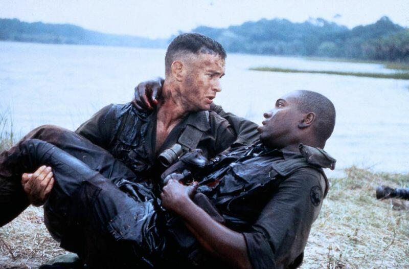 Forrest Gump mit Tom Hanks und Mykelti Williamson