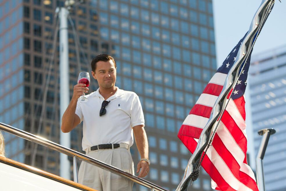 The Wolf of Wall Street mit Leonardo DiCaprio