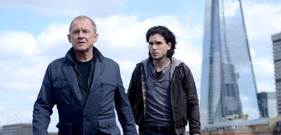 Peter Firth und Kit Harington in Spooks
