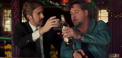 Ryan Gosling und Russel Crowe in The Nice Guys