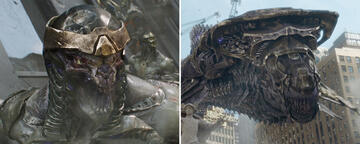 Chitauri und Leviathane in The Avengers