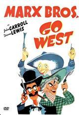 Die Marx Brothers im wilden Westen - Poster