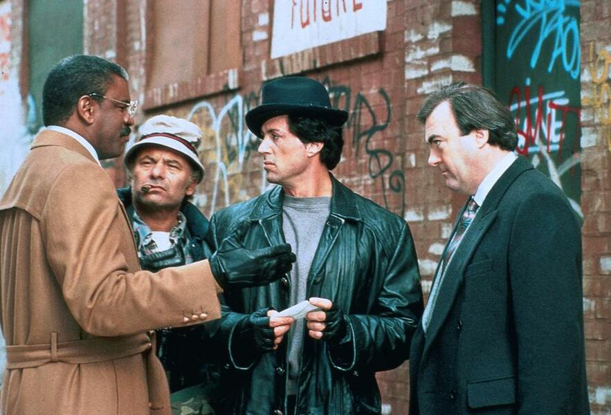 Rocky V mit Sylvester Stallone