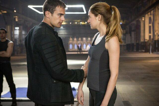 Die Bestimmung - Divergent mit Shailene Woodley und Theo James