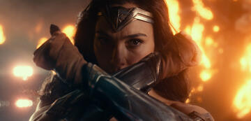 Gal Gadot als Wonder Woman in Justice League