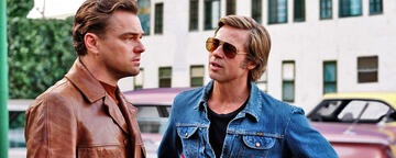 Once Upon a Time ... in Hollywood mit Leonardo DiCaprio und Brad Pitt