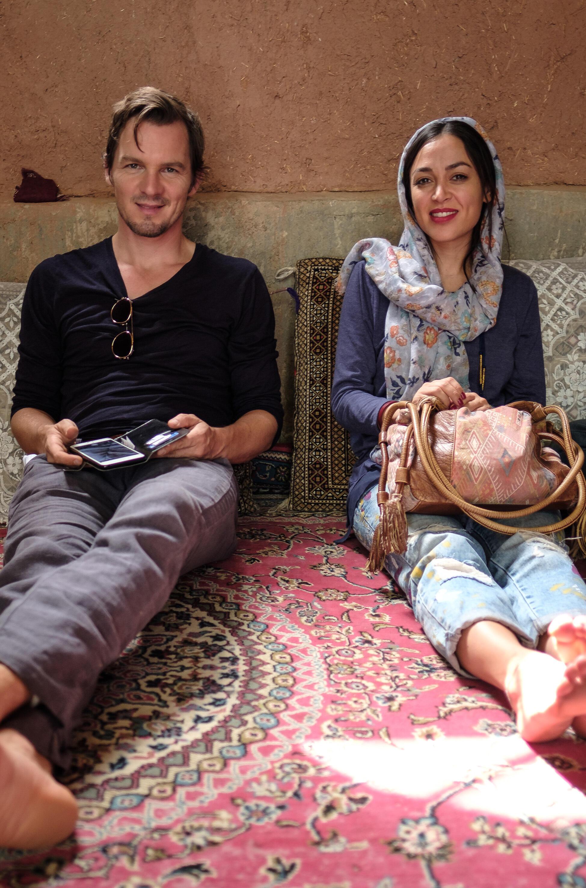 Auf Persisch