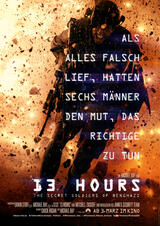 13 Hours: The Secret Soldiers of Benghazi - Poster