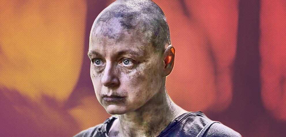 The Walking Dead mit Samantha Morton