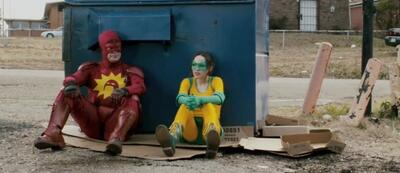 Rainn Wilson und Ellen Page in Super